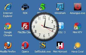 Analog Clock Ekran Görüntüsü