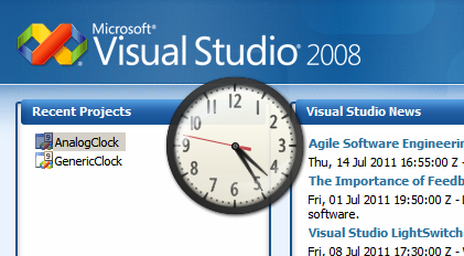 C# ve Analog Clock