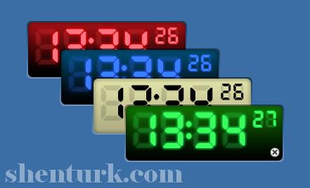 C# ile Dijital Saat (Digital Clock)