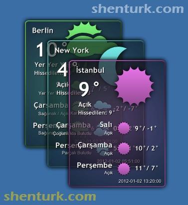 C# ile Hava Durumu Programı