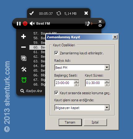RDK 3.0 ve Zamanlanmış Kayıt