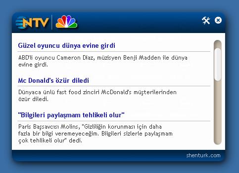Mini NTV 2.0 Ekran Görüntüsü