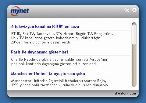 Mini Mynet 2.0 Ekran Görüntüsü