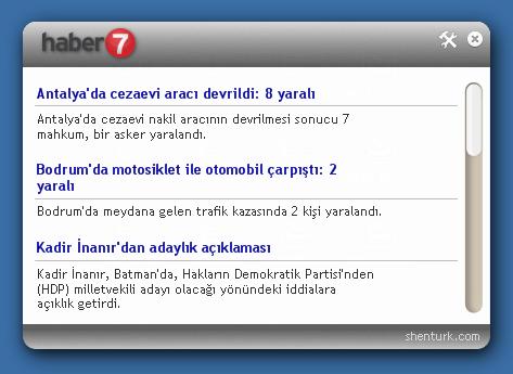 Mini Haber7 2.0 Ekran Görüntüsü